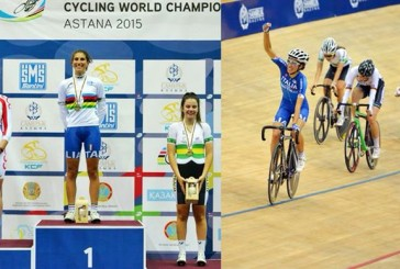 ELISA BALSAMO    (ex atleta sci club Busca)  campionessa del mondo nello scratch ai mondiali di ciclismo su pista