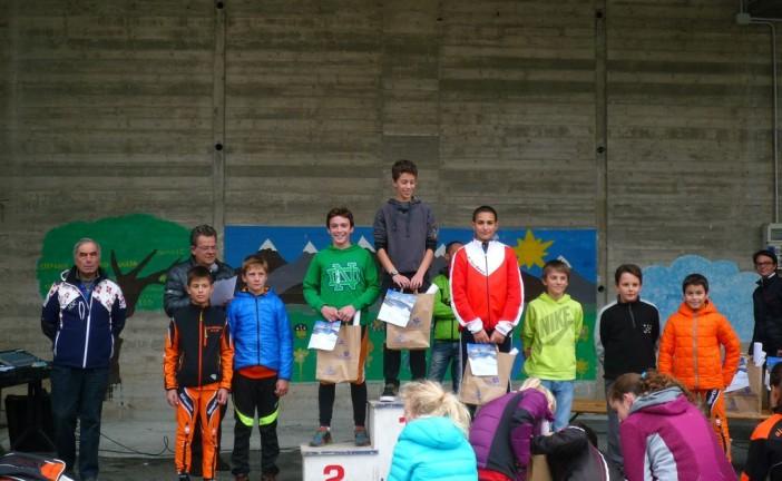 Un altro podio per lo Sci club Busca nella gara di Entracque