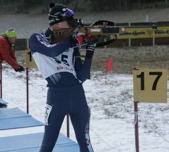Continua la scalata verso la top 10 di Nicolò in Coppa Italia Biathlon