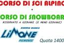 Corsi sci alpino e snowboard